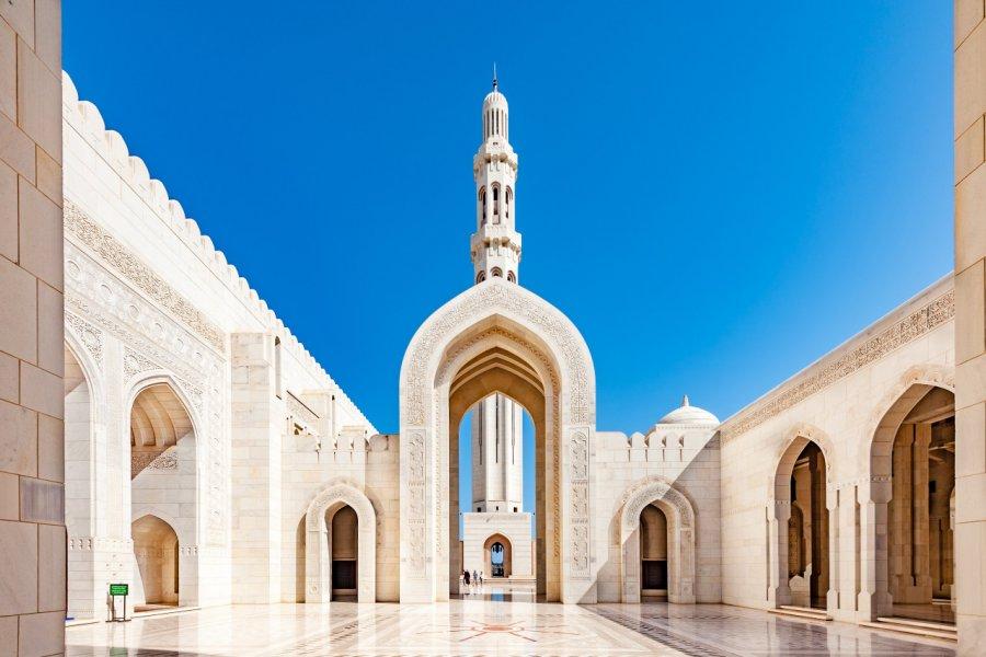 Grande mosquée du Sultan Qaboos. (© Richard Yoshida - Shutterstock.com))