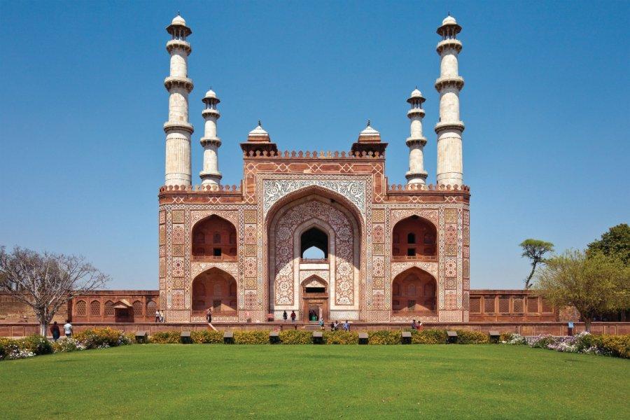 Mausolée d'Akbar à Sikandra. (© nstanev - iStockphoto.com))