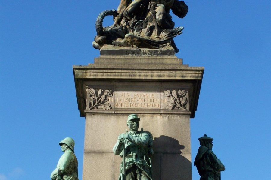 Monument aux morts de la guerre de 1870 à Nantes (© Λεωνιδας - Fotolia))