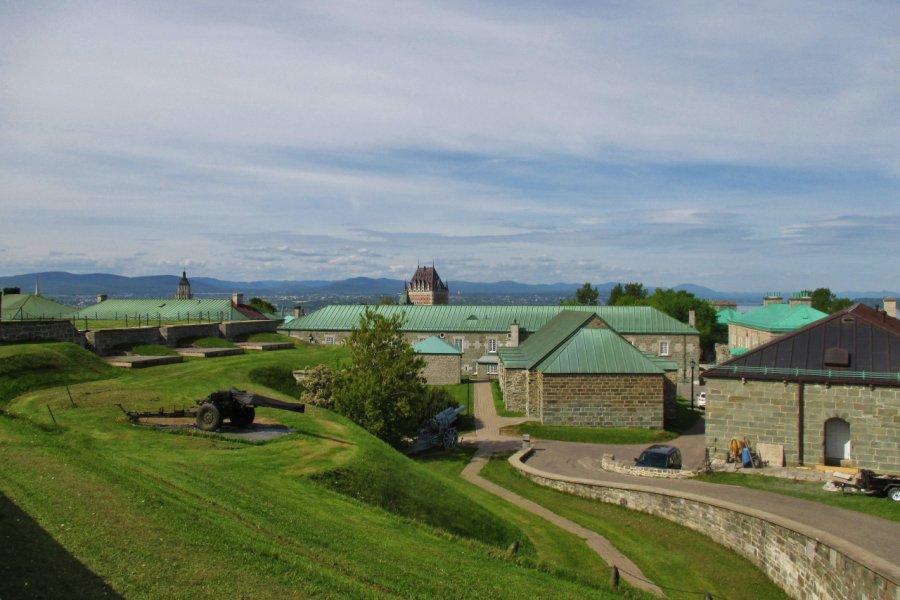 Citadelle de Québec. (© Valérie FORTIER))