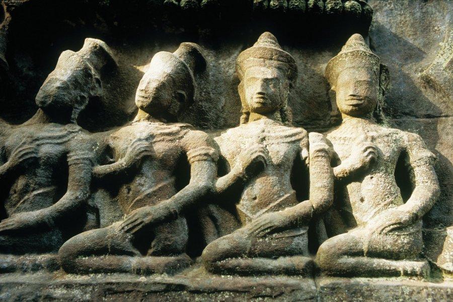 Art khmer. (© Eric Martin - Iconotec))