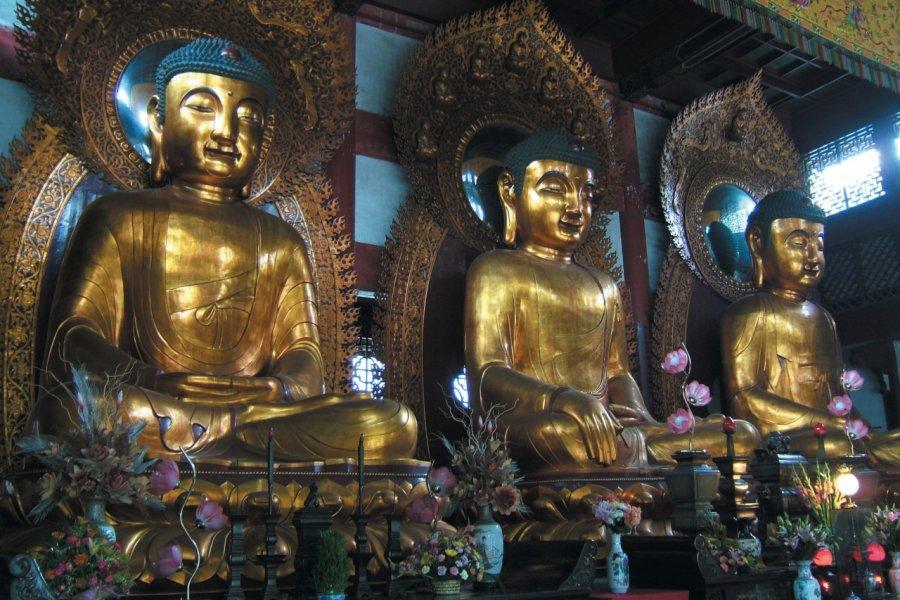 Temple des Six Banians - Liurong si hua ta. (© Stéphan SZEREMETA))