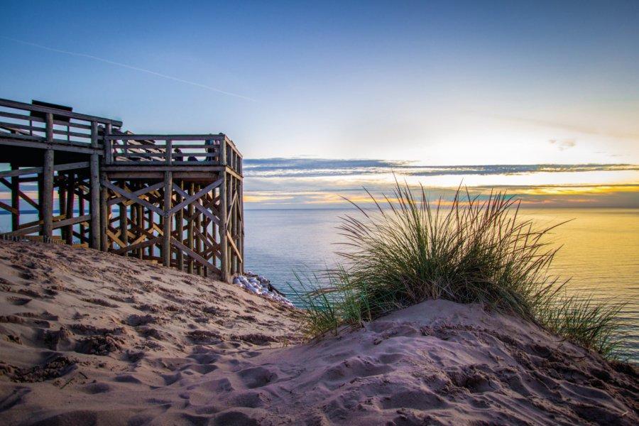Sleeping Bear Dunes National Lakeshore. (© ehrlif))