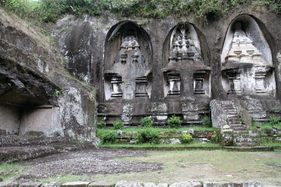 Tombes royales de Gunung Kawi. (© Stéphan SZEREMETA))