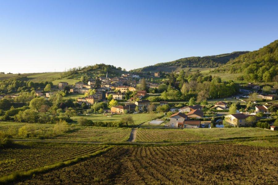Vue de Ville sur Jarnioux. (© Gaelfphoto - Fotolia))