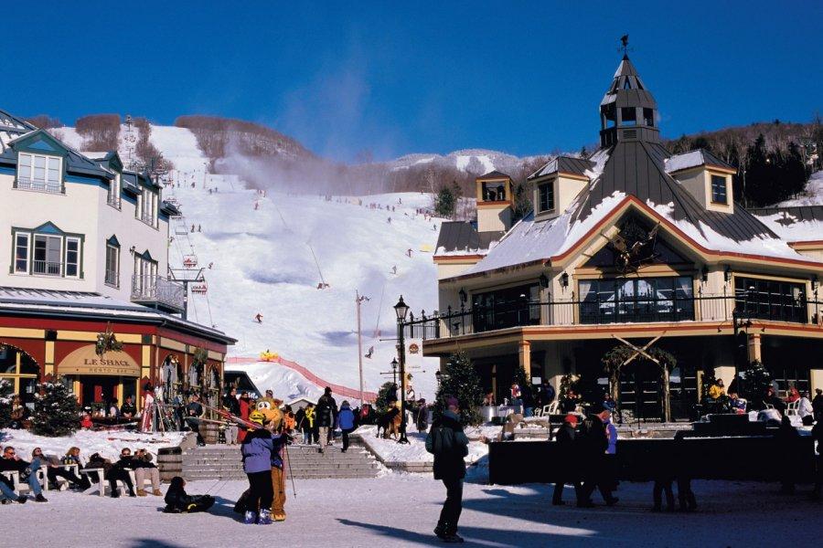 Station de ski Tremblant. (© Author's Image))