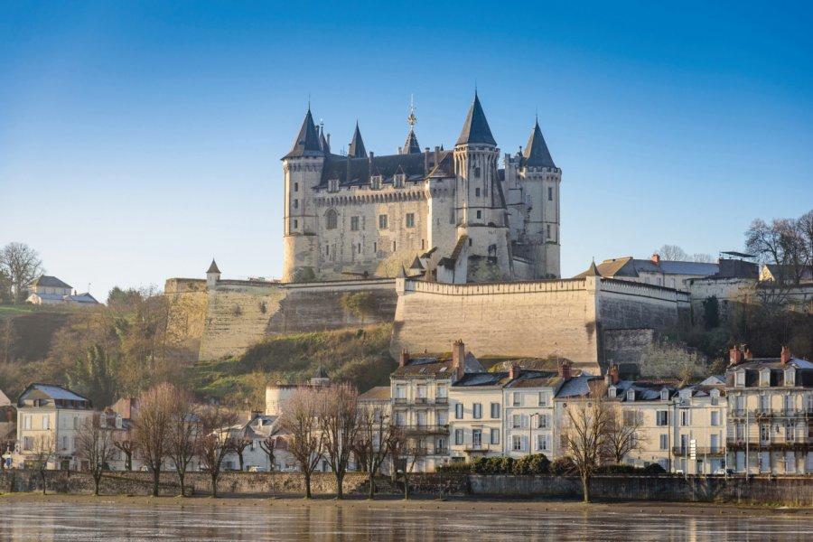 Vue sur le château de Saumur. (© Christophe Gagneux-Pixim))