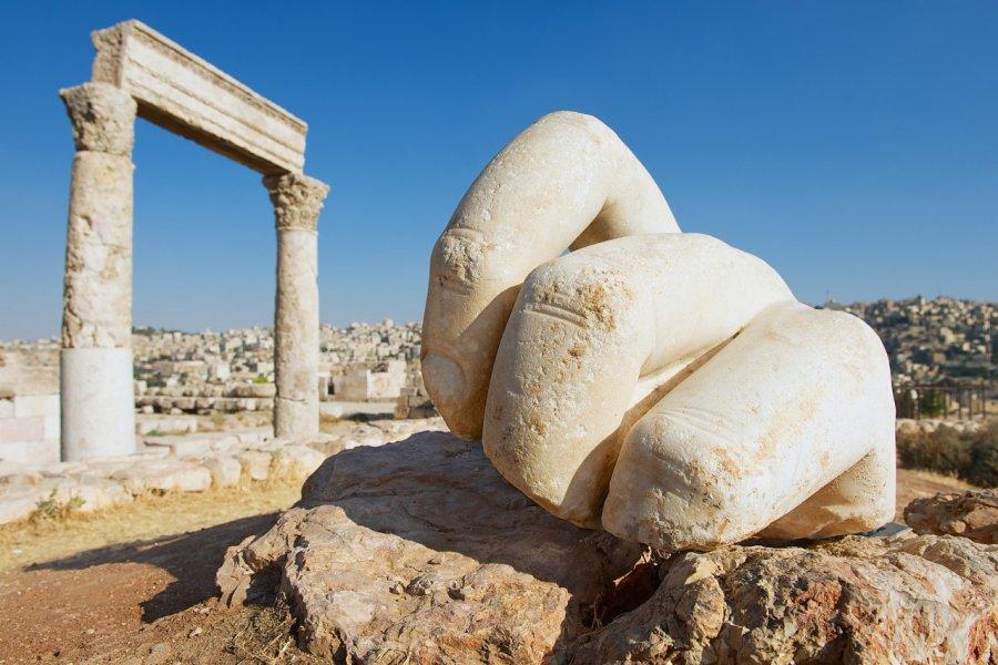 Le Temple d'Hercule et la citadelle antique d'Amman. (© Dmitry Chulov / Shutterstock.com))