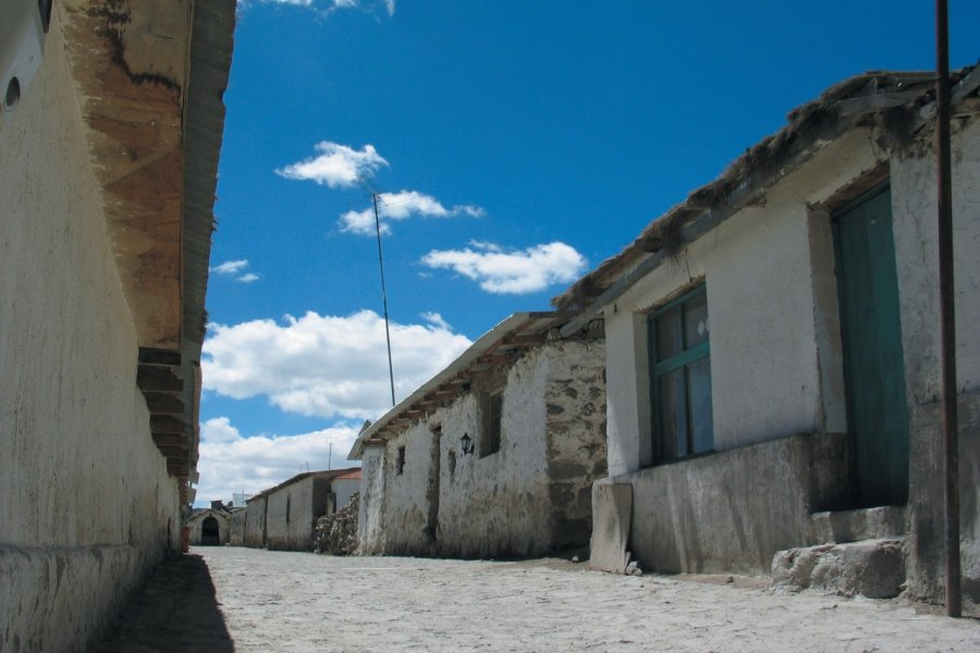 Rue de Parinacota (© Arnaud BONNEFOY))
