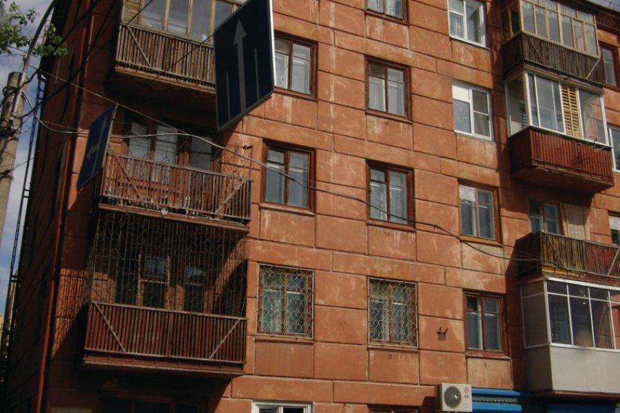 Immeuble d'habitation dans le centre-ville (© Stéphan SZEREMETA))