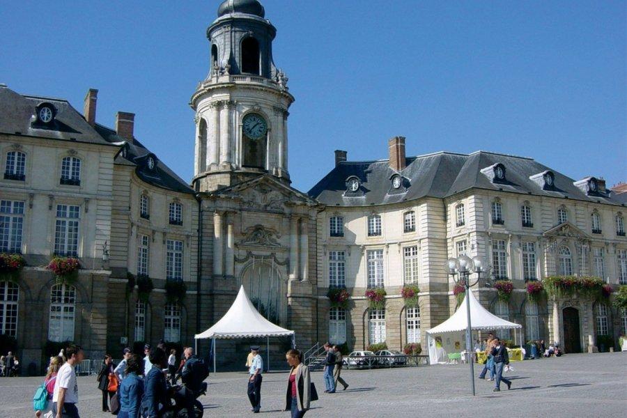 L'Hôtel de Ville de Rennes. (© JEROME DELAHAYE - FOTOLIA))
