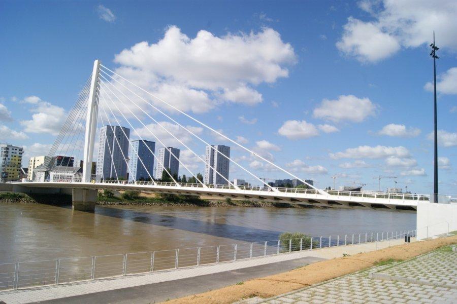 Le pont Éric Tabarly à Nantes (© Λεωνιδας - Fotolia))