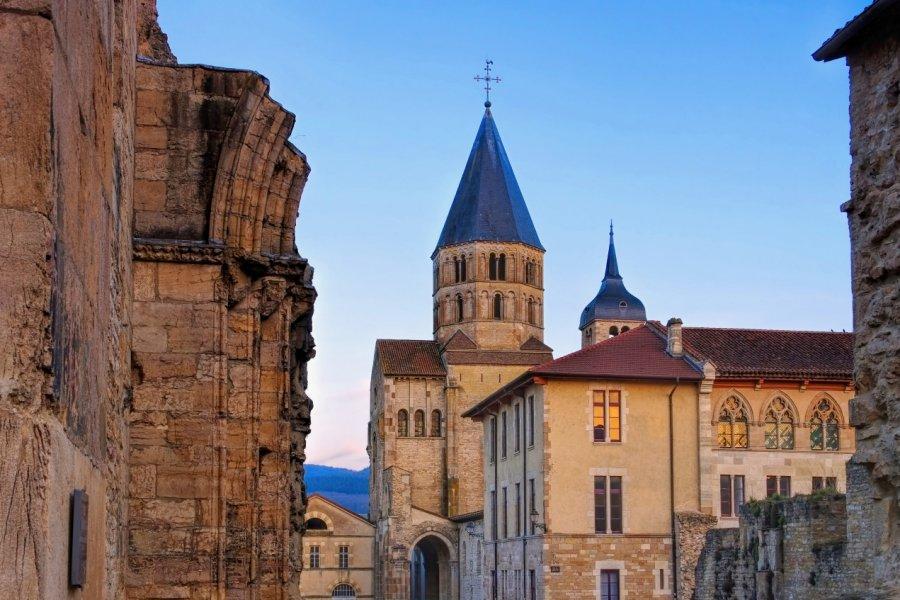 Cluny et son abbaye. (© LianeM / Adobe Stock))