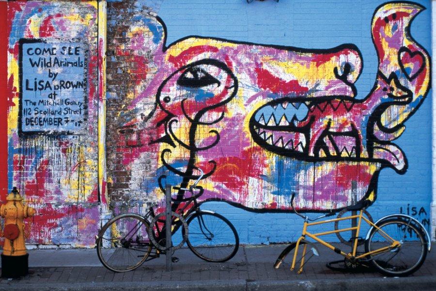 Street art à Toronto. (© Yukiko Yamanote - Iconotec))