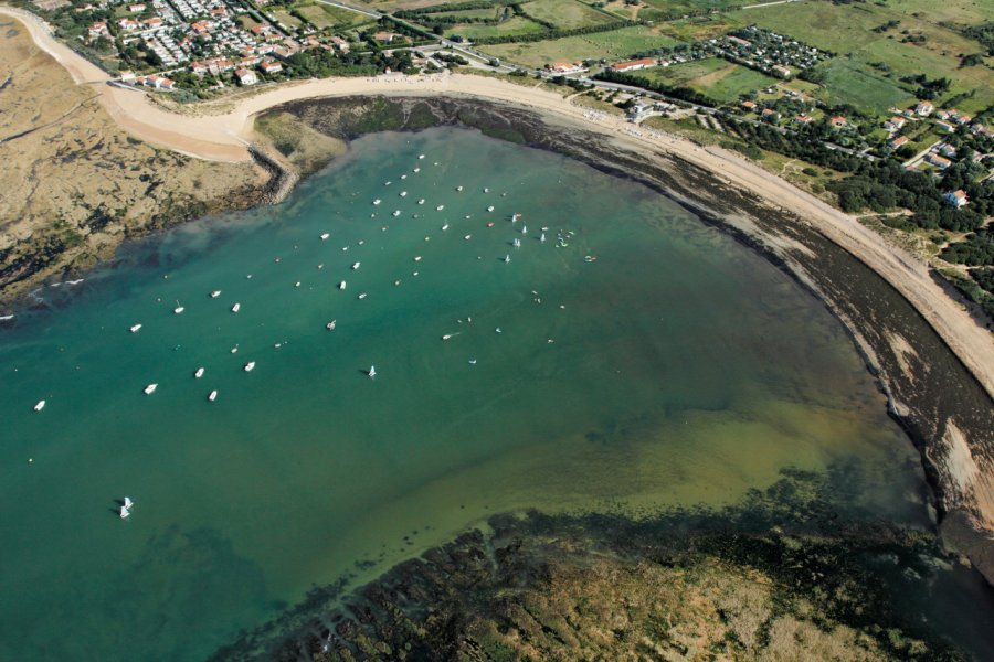 Baie de la Perroche à Dolus-d'Oléron. (© philippe Devanne - stock.adobe.com))
