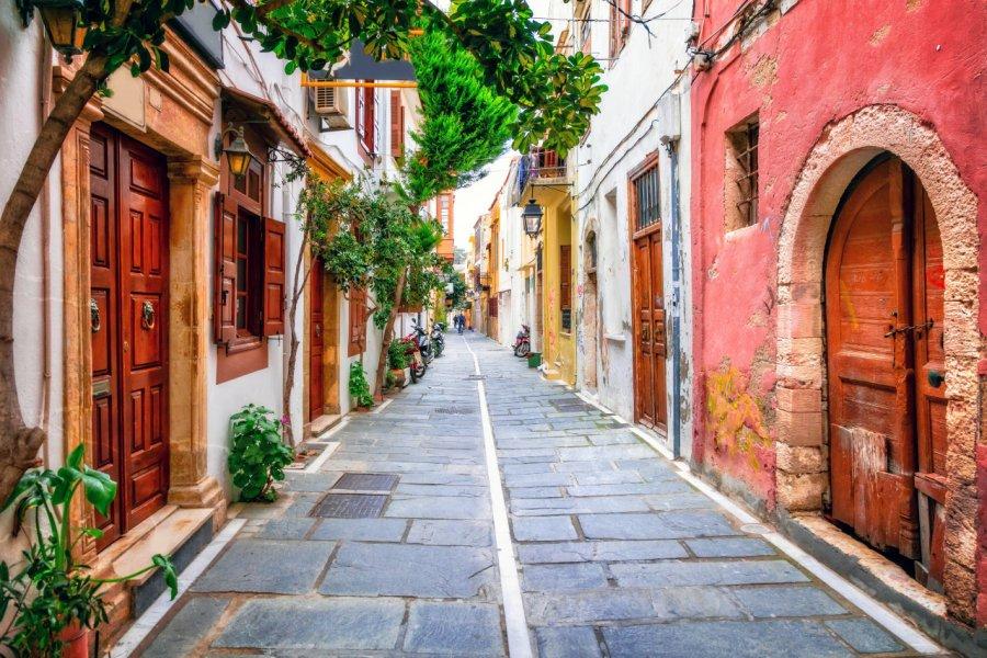 Promenade dans les ruelles de Rethymnon. (© Freesurf))