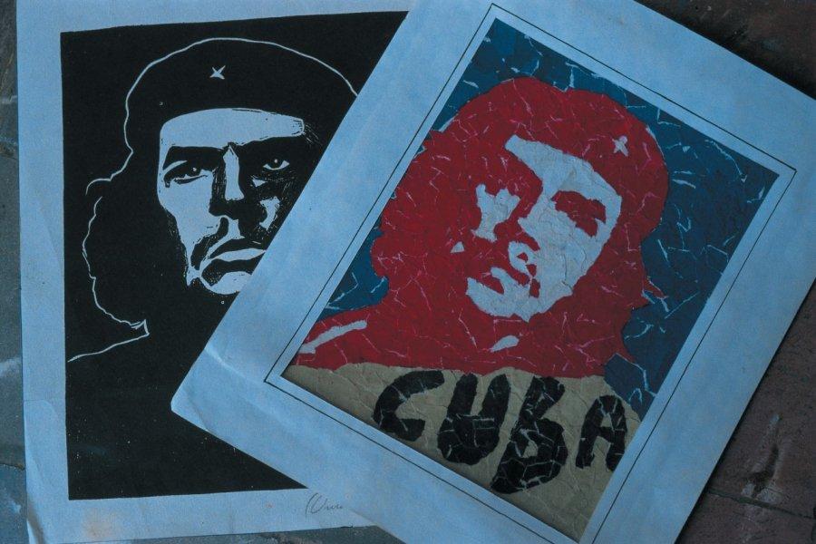 Affiches de Che Guevara. (© S.Nicolas - Iconotec))
