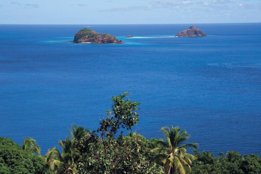 Choizil est l'un des sites les plus réputés au nord de Mayotte. (© Stéphan SZEREMETA))