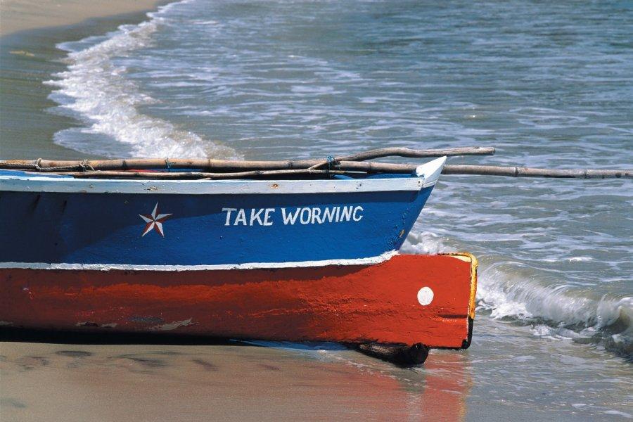 Barque d'un pêcheur de Choiseul. (© Author's Image))
