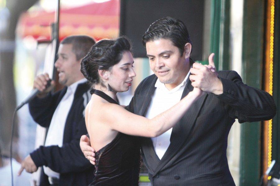 Le tango, institution à la Boca. (© Stéphan SZEREMETA))