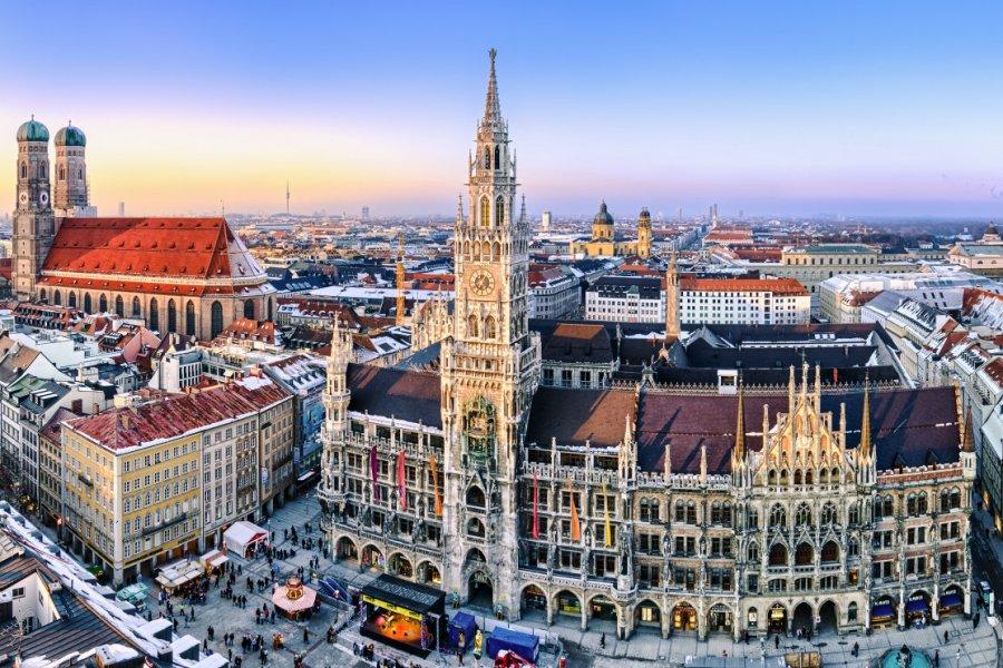 Hôtel de ville de Munich. (© Mapics))