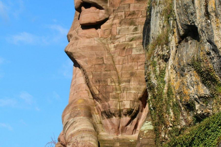 Le lion de Belfort. (© Thierry Lubar - Fotolia))