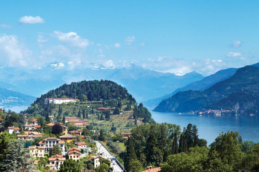 La ville de Bellagio, sur les rives du Lac de Côme. (© RUBENfot - iStockphoto))