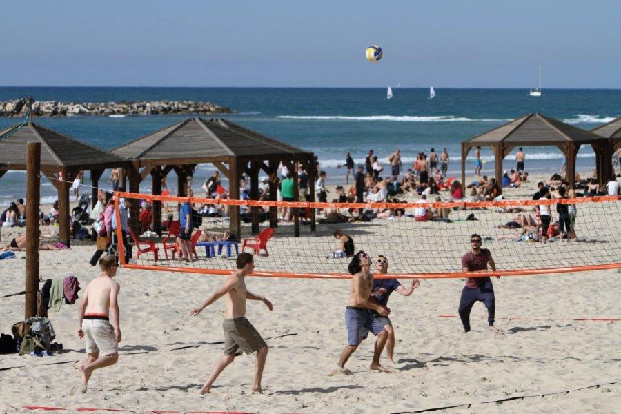 Beach volley sur toutes les plages! (© Stéphan SZEREMETA))