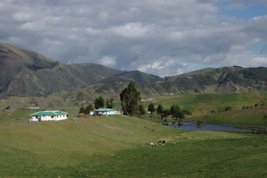 Paysage andin de la région de Cuenca. (© Stéphan SZEREMETA))
