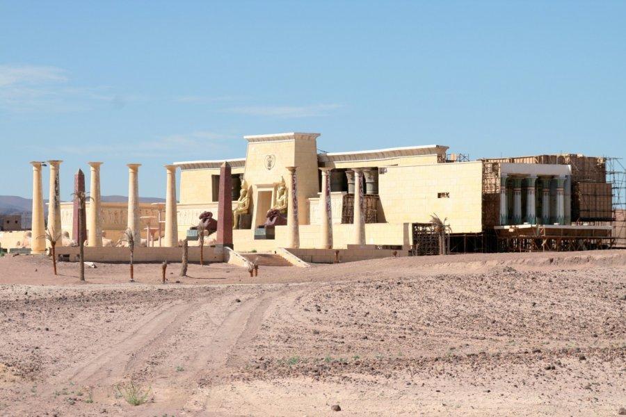 Décors des studios de cinéma de Ouarzazate. (© Stéphan SZEREMETA))