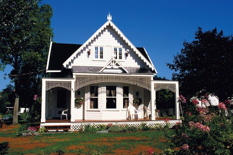 Maison de charme à l'Île d'Orléans. (© Author's Image))