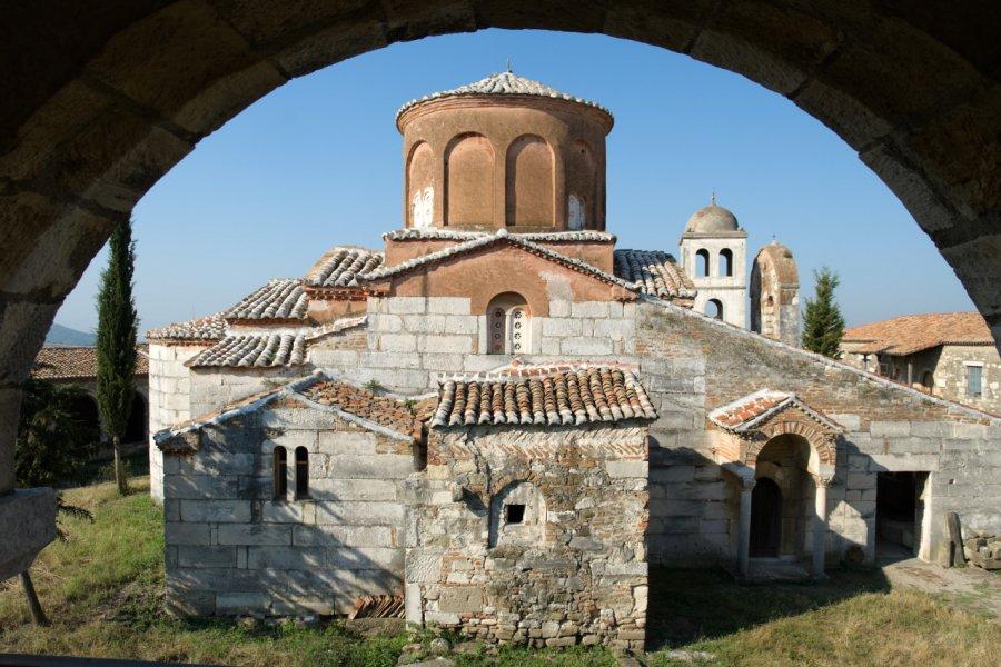 Église de la Vierge Theotokos, site archéologique d'Apollonie. (© ollirg - Shutterstock.com))