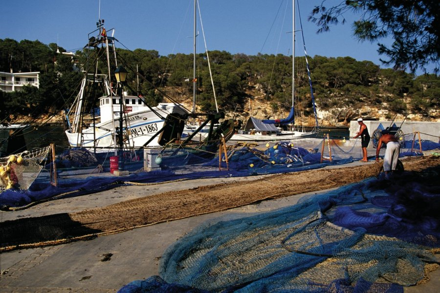 Port de pêche de Cala Santanyi. (© Author's Image))