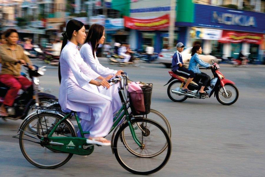 Écolières de Cân Tho. (© Author's Image))
