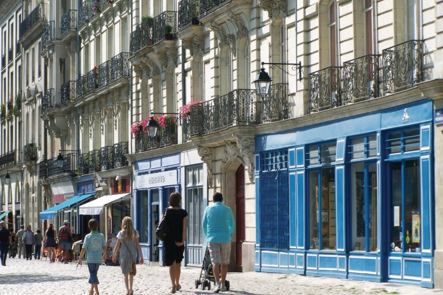 Promenade en famille à Nantes (© Λεωνιδας - Fotolia))