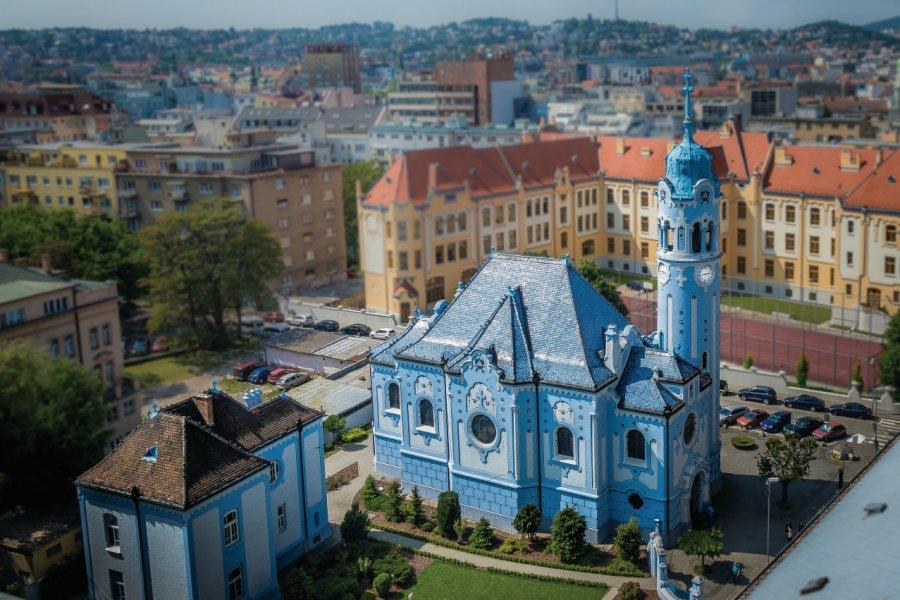 Eglise bleue Sainte-Elisabeth, Bratislava. (© SGT4EVA))