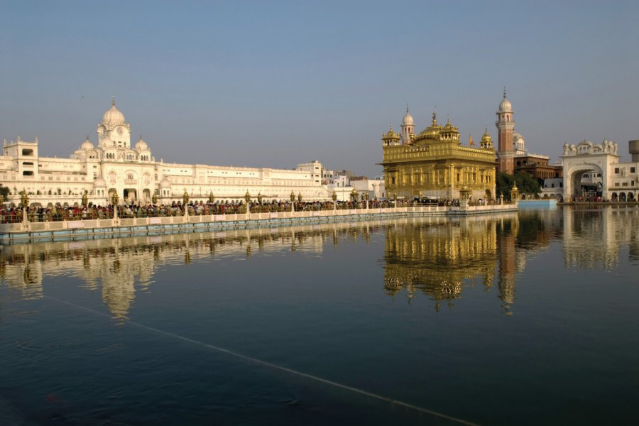 Le temple d'or (Hari Mandir). (© Alamer - Iconotec))