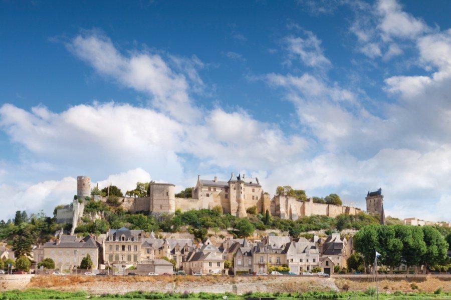 Chinon et sa forteresse royale (© Travellinglight - iStockphoto.com))