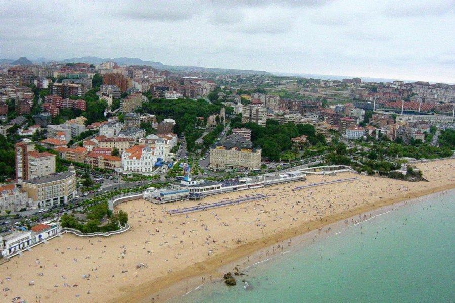 Le quartier de Sardinero, Santander. (© Office de tourisme de Santander))
