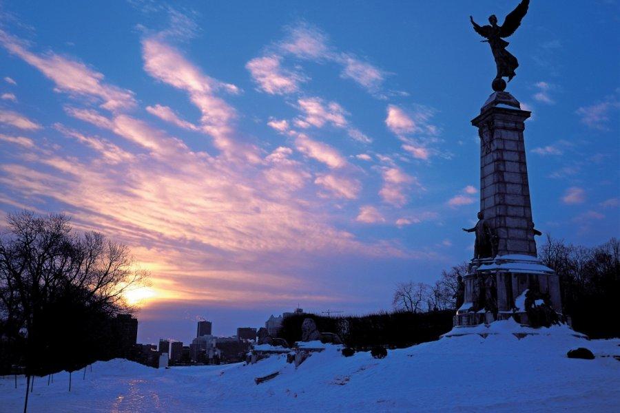 Lever de soleil au mont Royal. (© Yukiko Yamanote - Iconotec))