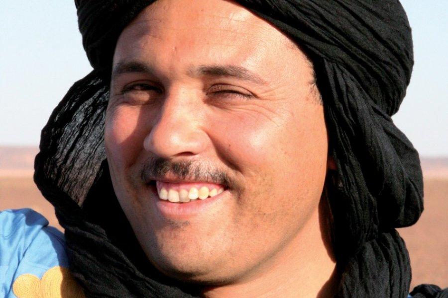 Visage marocain. (© Stéphan SZEREMETA))