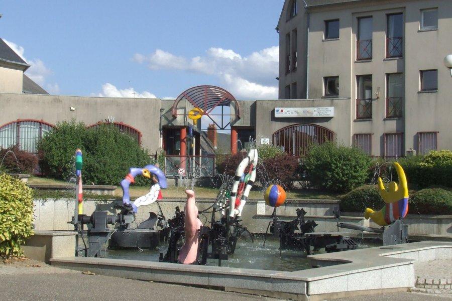 La Fontaine de Niki de Saint Phalle et Jean Tinguely. (© Laëtitia STEIMETZ))