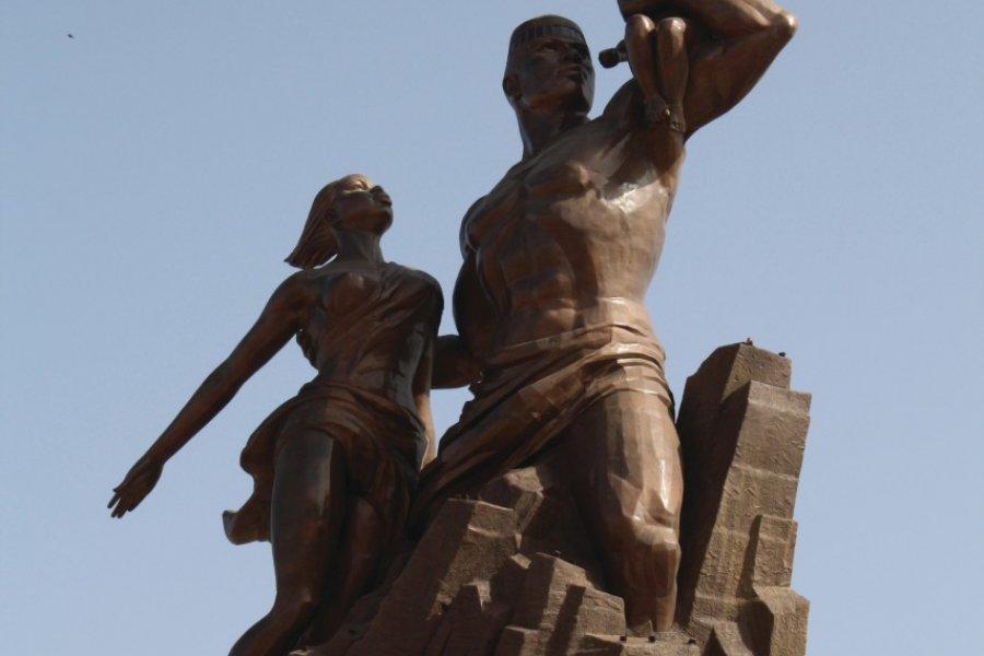 Statue de la Renaissance africaine. (© Maya LEFEBVRE))