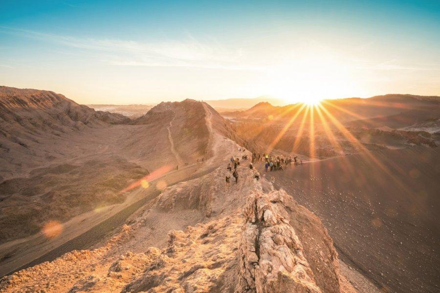 Valle de la Luna, désert d'Atacama. (© ViewApart))