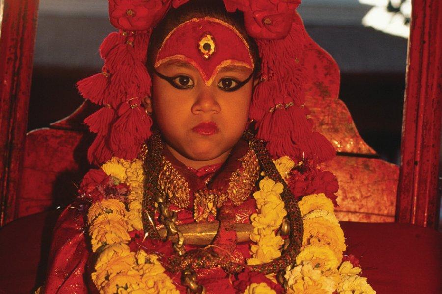 Véritable déesse vivante, la petite Kumari est adulée. (© Author's Image))