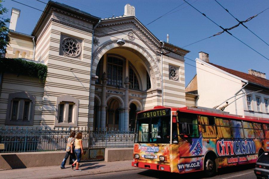 La synagogue chorale de Vilnius située rue Pylimo. (© Serge OLIVIER - Author's Image))