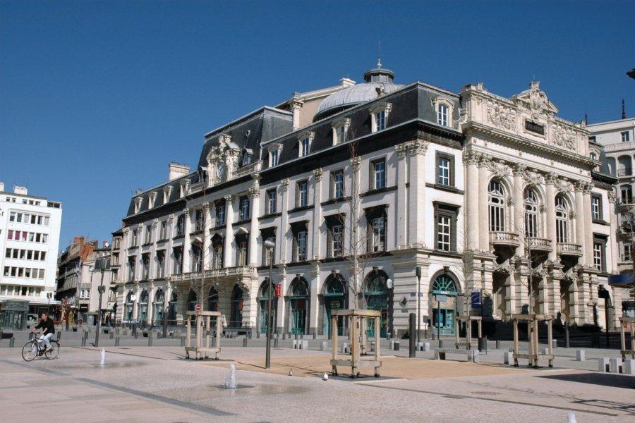 Le théâtre municipal de Clermont-Ferrand (© Leonidas - Fotolia))