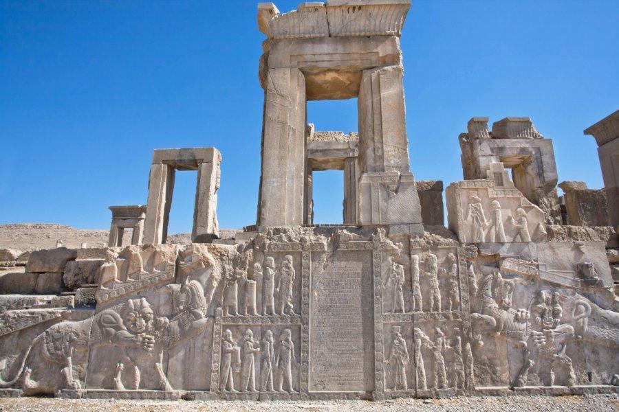 Ruines de Persépolis. (© Radiokafka / Shutterstock.com))