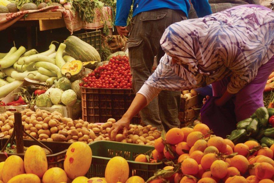Le marché de Tiznit. (© Elisa Vallon))