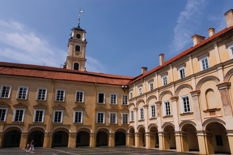 Université de Vilnius. (© Serge OLIVIER - Author's Image))